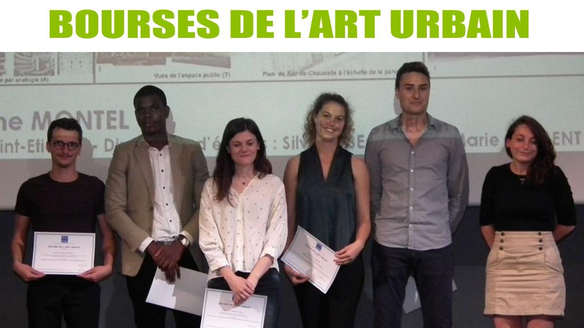 Bourses de l'Art urbain 2019-2020