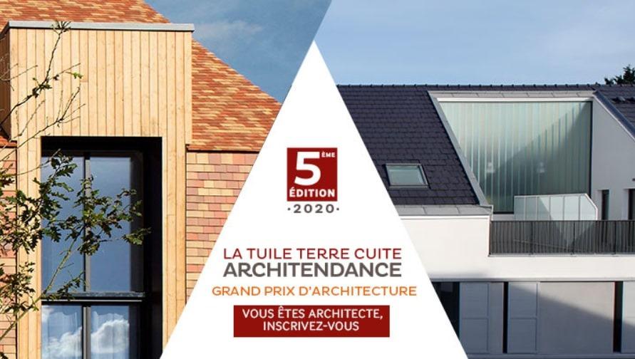 Grand Prix La Tuile Terre Cuite Architendance 2020, 5ème Edition