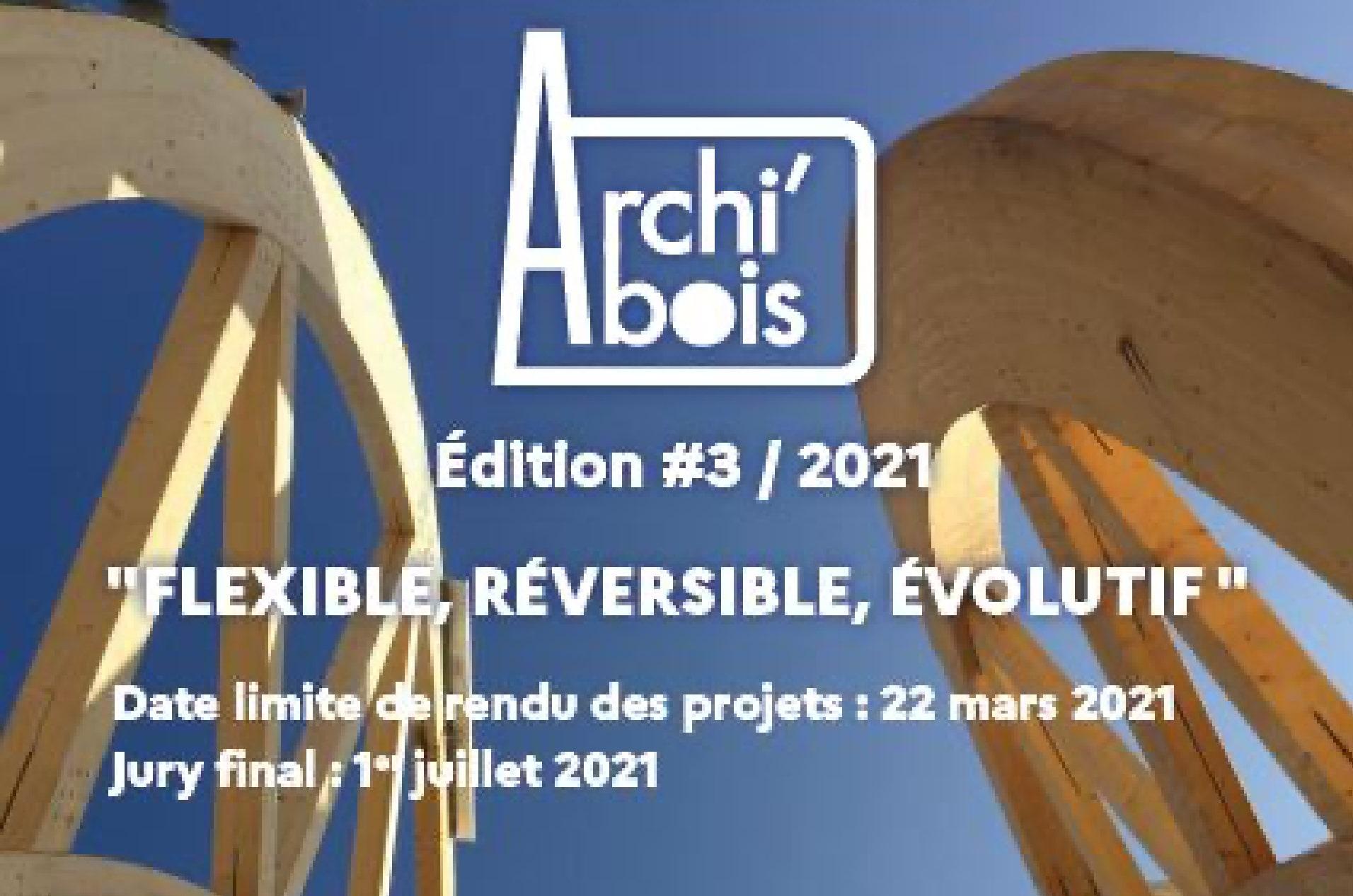 CONCOURS ARCHI'BOIS 2021