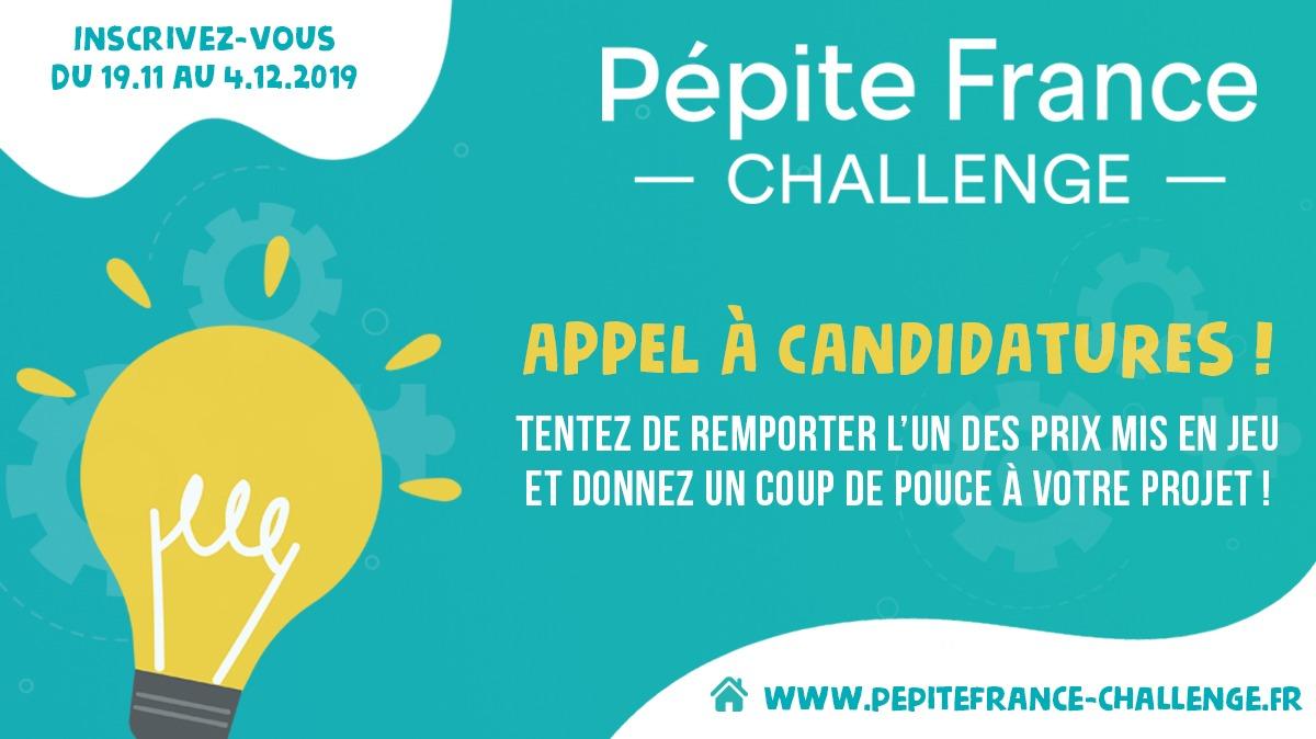 Pépite France Challenge 2020